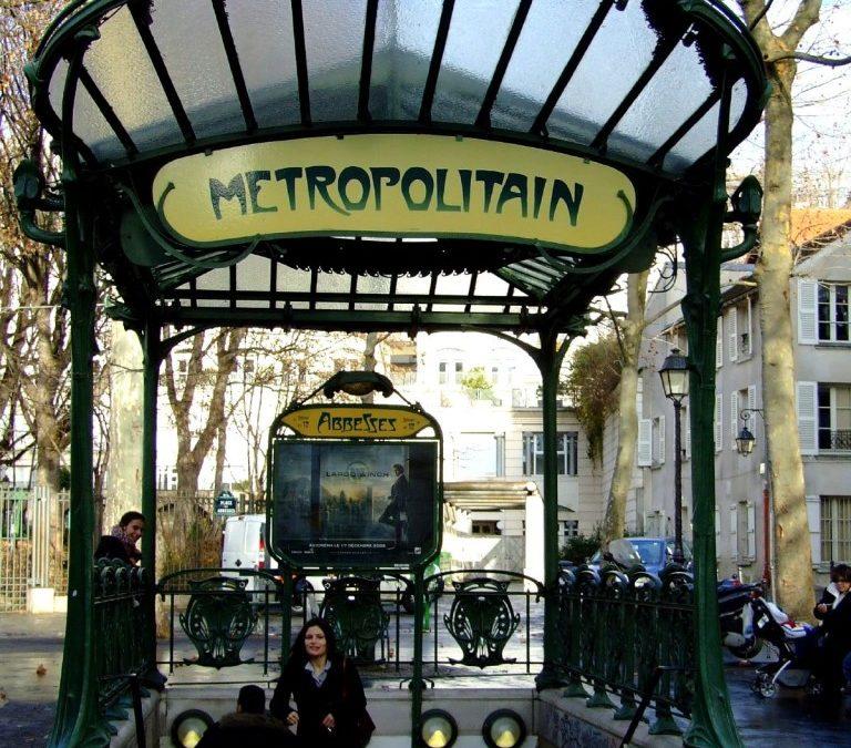 Francja dla początkujących, paryskie metro (3)