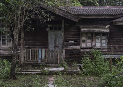 Andaman Islands, Abandoned houses