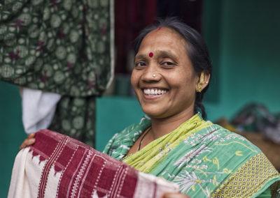 Idia, Bhubaneshwar, tkacze, weavers