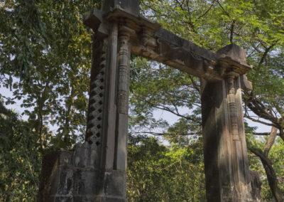 Indie, Old Goa barma do palacu Adil Shah