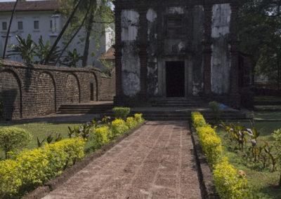 Indie, Old Goa, kosciol sw. Katarzyny