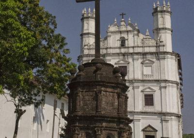 Indie, Old Goa, Kosciol sw. Franciszka