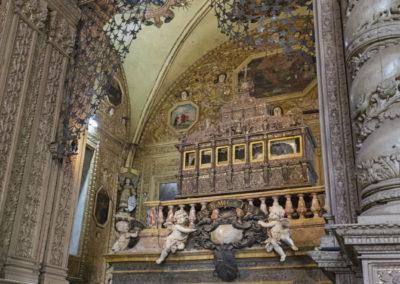 Indie, Old Goa, Kosciol Bom Jesus, Relikwie Franciszka Ksawerego