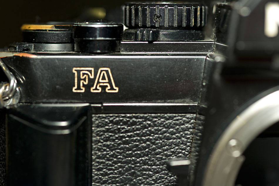 Nikon FA – opis aparatu