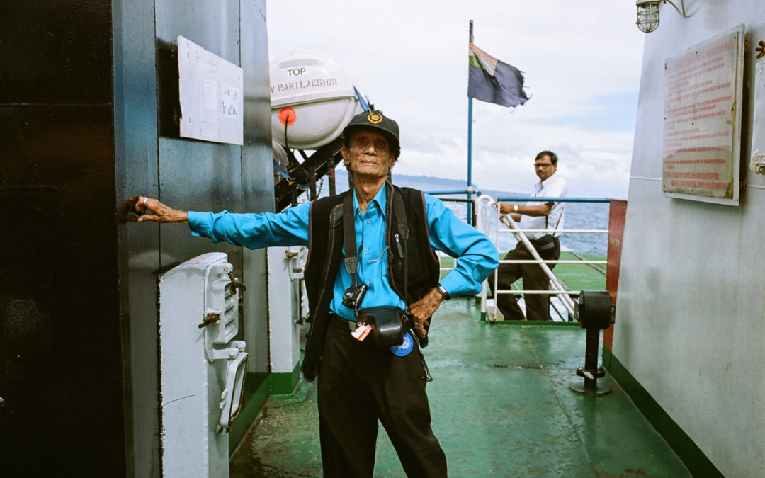 Analogowy turysta